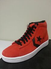 NEW CONVERSE PRO LEATHER PLUS MID Red / Orange / Blue  MENS 7