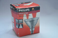 PHILIPS 120 Watt BULB Outdoor Spot Flood Light 230v E27 ES PAR38 NEW OLD STOCK