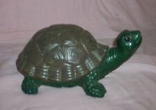 LARGE TURTLE STATUE / YARD ART/ COUNTRY/ SHABBY GARDENS/FENG SHUI