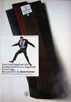 Vintage 1967 Jerry Lewis 'Interwoven' Socks Advert #1 - Original Photo Print AD