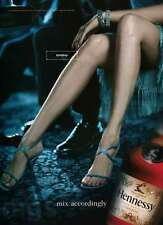 Hennessy Cognac 1-page clipping ad Nov 2000 legs high heels Tomboy