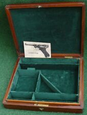 ANTIQUE CASE FOR A LUGER PO8 PISTOL GUN.