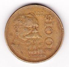 Estados Unidos Mexicanos$100 Coin 1990 !
