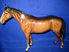 Beswick Horse Bois Russel Racehorse  No 701 Brown Gloss
