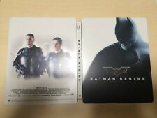amazon.co.jp limited Batman Begins Blu-ray Steel Book rare from Japan