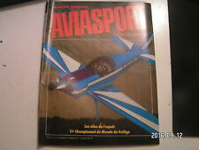 **b Aviasport n°341 11e championnat du monde de Voltige / ST 11 / Brienne 82