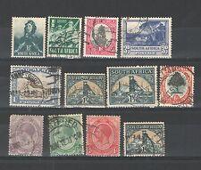 R365 - SUDAFRICA 1920/41 - LOTTO USATI DIFFERENTI   N° 3/118 - VEDI FOTO