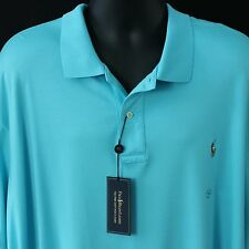 $98 Polo Ralph Lauren Mens Size 4XB Shirt Golf Apparel Big New Embroidered Pony