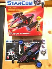 Starcom Mattel Shadow Vampire Boxed ( with Stickers Action Works Perfect) Europe