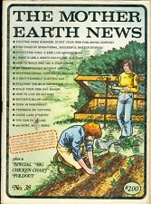 1976 Mother Earth News Magazine #38: Home Business/Barter Stories/Boat House