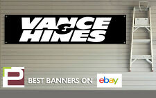 Vance and Hines Banner for Workshop, Garage, Office, Pit Lane