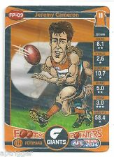 2014 Teamcoach Footy Pointers (FP-09) Jeremy CAMERON Greater Westernb Sydney