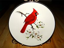 Cardinal Bird NORTH AMERICAN SONGBIRD by Don Eckelberry Avon Plate Collection