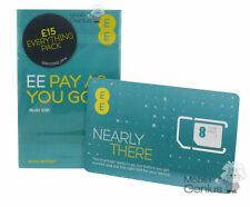 EE £15 Everything Pack Pay As You Go Sim Card (Standard, Micro & Nano) 4G READY