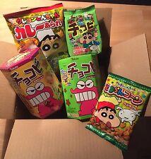 Crayon Shin-chan Snack Set, Chocobi, Curry Arare, Ramune, Japan