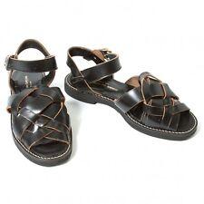 COMME des GARCONS Leather Sandals Size 6(K-43232)