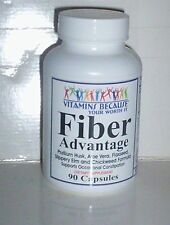 FIBER ADVANTAGE ALLEVIATE CONSTIPATION MAINTAIN REGULARITY SUPPLEMENT 90 CAPSULE