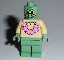SPONGEBOB Lego Squidward - Pink Lei  NEW  AS SHOWN 3818/3825 #5B
