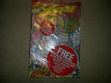X-FORCE  No 1, Bagged and unopened still with Trading cards-Marvel comics 1991