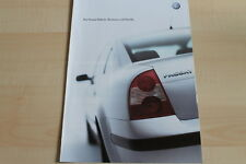 96031) VW Passat Business + Family Prospekt 06/2002