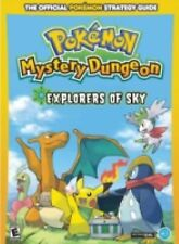 Pokemon Mystery Dungeon Explorers of Sky Strategy Game Guide Nintendo DS Book