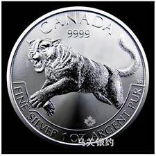 Canada 2016 Cougar Silver .999 1oz (UNC)