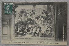 """CPA """" RAMBOUILLET - Le Château - Tapisserie Louis XV de la Salle à manger"""