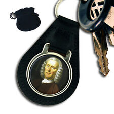 JOHN HARRISON ENGLISH CLOCKMAKER LEATHER KEYRING / KEYFOB