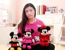 Mickey Mouse n Minnie Mouse Soft Toy Stuffed Animals Plush Toy doll