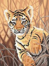 Dimensions Needlecrafts Paintworks Paint By Number Tiger Cub New Free Shipping