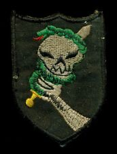 US Army Special Forces Snake Team Vietnam Patch F-2