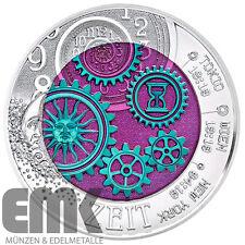 Österreich - 25 Euro 2016 - Die Zeit - Faszination Technik (14.) - Silber/Niob