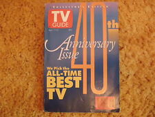 40th Anniversary Issue - TV Guide - April 17 - 23. 1993