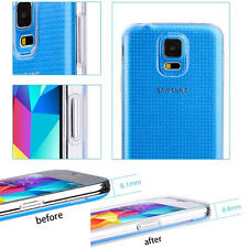 Ultra Thin Clear Transparent Crystal TPU Case Cover for Samsung Galaxy S5 i9600