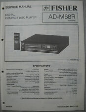 FISHER AD-M68R CD-Player Service Manual