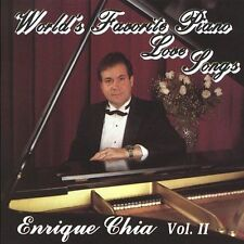 CHIA,ENRIQUE-WORLD`S FAVORITE PIANO LOVE SONGS 2  CD NEW