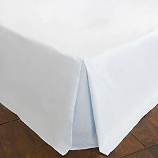 Duck Egg Dorma 300 Thread Count Soft Pleat Divan Trim Kingsize Valance