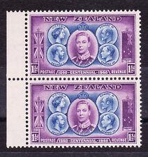 NEW ZEALAND 1940 1½d CENTENNIAL 'MAUVE LINE ABOVE LEFT 1½d' CP SO28a (Z) MNH.