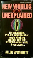 New Worlds Of The Unexplained Psychic UFO Atlantis Ghost ESP 1st Print 1976 Rare