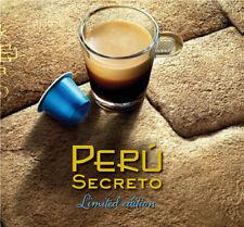 Etui 10 capsules Nespresso Edition Limitée Peru Secreto Epuisé!