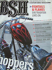 BSH BACK STREET HEROES MAGAZINE DEC 2002 SPAGHETTI JUNCTION SLAYERS STUGIS MAG