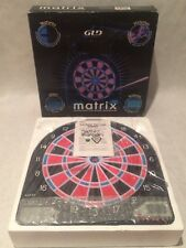 GLD Products Matrix Backlight Electronic Dartboard Darts Brand New