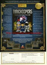 "Timekeepers ""Vulcan Software"" 1995 Magazine Advert #5764"