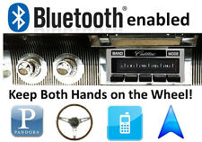 Bluetooth Enabled '58-60 Cadillac 300 watt AM FM Stereo Radio USB, iPod inputs
