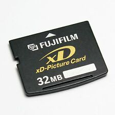 Original FUJIFILM 32MB xD-Picture Card, XD Card 32MB, with Plastic Case,DPC-32