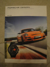 Porsche Design Drivers Selection, Katalog 2007/2008