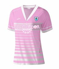 El Salvador Women Soccer Jersey New With out Tags Color Pink Size L