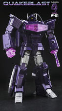 New Cloud 9 Toy Transformers W-01 QuakeBlast Shockwave Figure In Stock