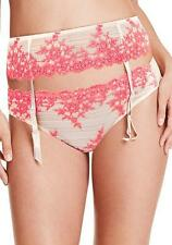 WACOAL GARTER BELT PANTY SUSPENDER  848291 MEDIUM/LARGE M/L ANTIQUE WHITE/SUGAR