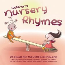CD CHILDREN'S NURSERY RHYMES JACK & JILL HUMPTY DUMPTY OLD KING COLE SEE SAW etc